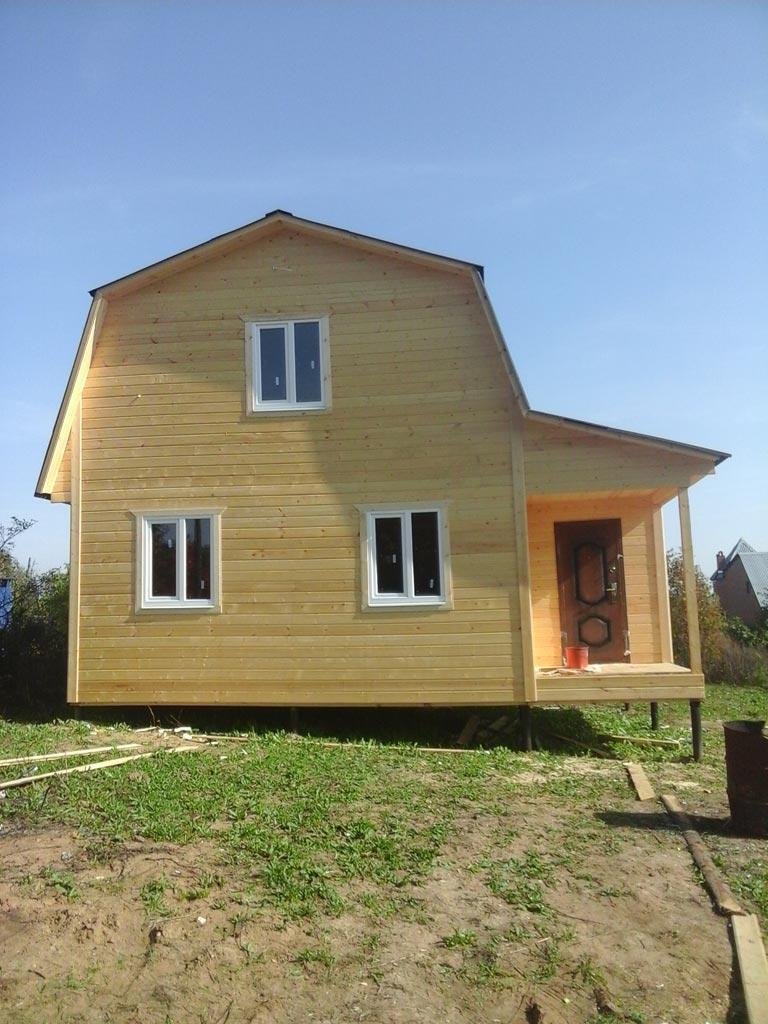 Строительство домов в Кольчугино Владимирской области