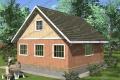 Каркасный дом. Проект К-14