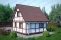 Каркасный дом. Проект К-24