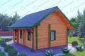 Дом из бруса. Проект Б-13