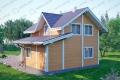 Дом из бруса. Проект Б-11