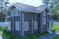 Дом из бруса. Проект Б-23