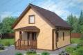 Каркасный дом. Проект К-6
