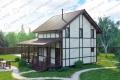 Каркасный дом. Проект К-23