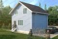 Каркасный дом. Проект К-22