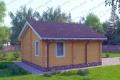 Дом из бруса. Проект Б-20