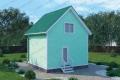 Каркасный дом. Проект К-4
