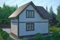 Каркасный дом. Проект К-8