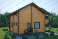 Дом из бруса. Проект Б-2
