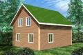 Каркасный дом. Проект К-20