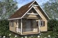 Каркасный дом. Проект К-21