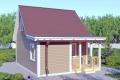 Каркасный дом. Проект К-9