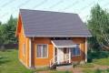 Дом из бруса. Проект Б-8