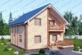 Дом из бруса. Проект Б-16