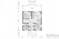Каркасный дом. Проект К-33