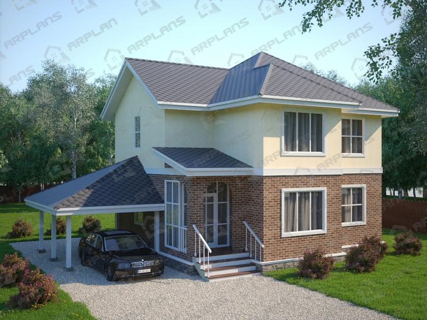 Каркасный дом. Проект К-19