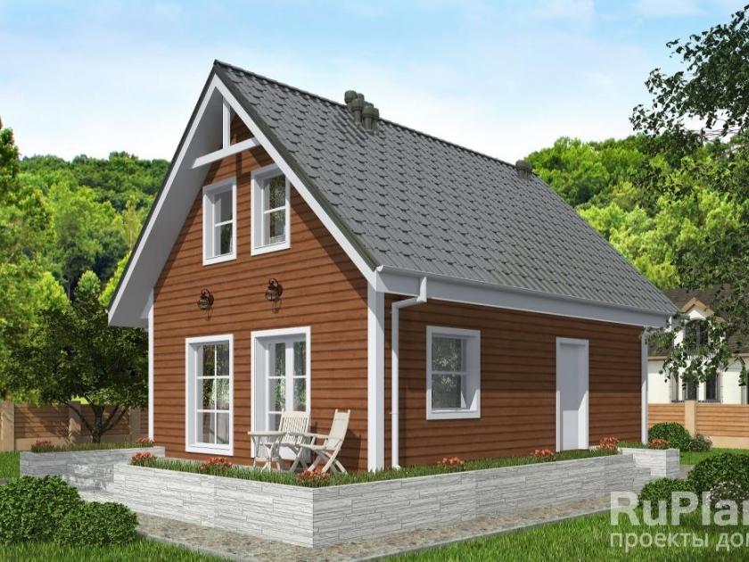 Каркасный дом. Проект К-36