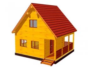 Проект дачного дома №13
