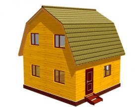 Проект дачного дома №15