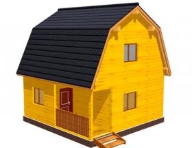 Проект дачного дома №16