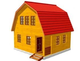 Проект дачного дома №18