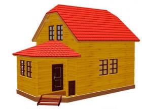 Проект дачного дома №24