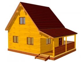 Проект дачного дома №25