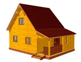 Проект дачного дома №26