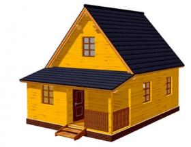 Проект дачного дома №27