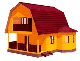 Проект дачного дома №28