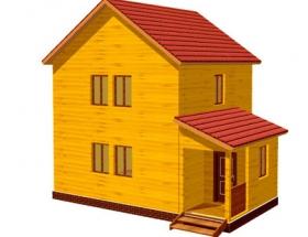 Проект дачного дома №29
