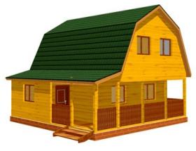 Проект дачного дома №33