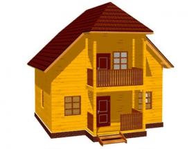 Проект дачного дома №39