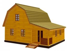 Проект дачного дома №40