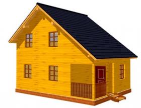 Проект дачного дома №42