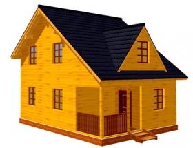Проект дачного дома №44