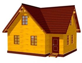 Проект дачного дома №46