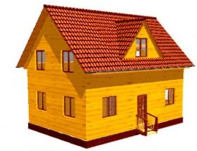 Проект дачного дома №47