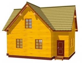 Проект дачного дома №48