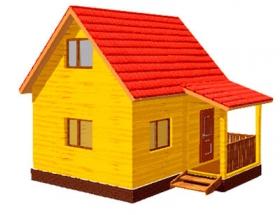 Проект дачного дома №5