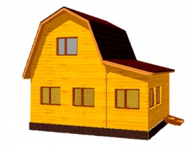 Проект дачного дома №6