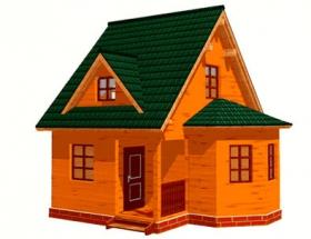 Проект дачного дома №8