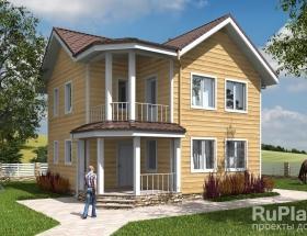 Каркасный дом. Проект К-25