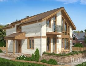 Каркасный дом. Проект К-28
