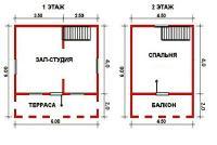 Проект дачного дома №11