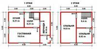 Проект дачного дома №30