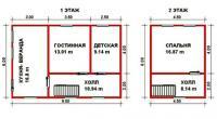 Проект дачного дома №31