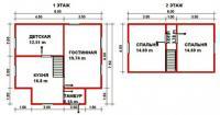 Проект дачного дома №36