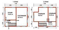 Проект дачного дома №38