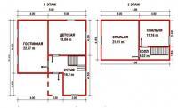 Проект дачного дома №41